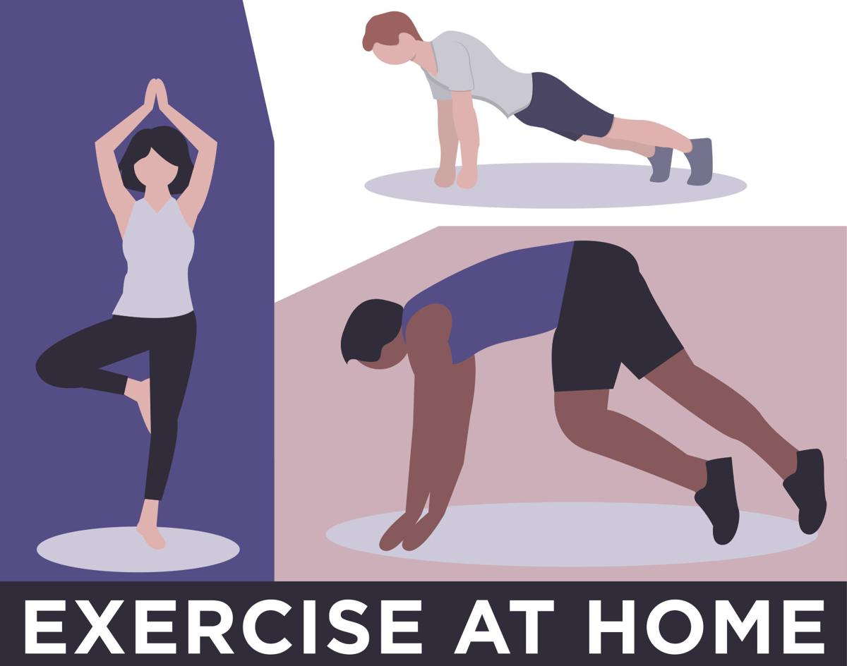 Can't Exercise at the Gym? Use These Exercises To Get Sweaty at Home